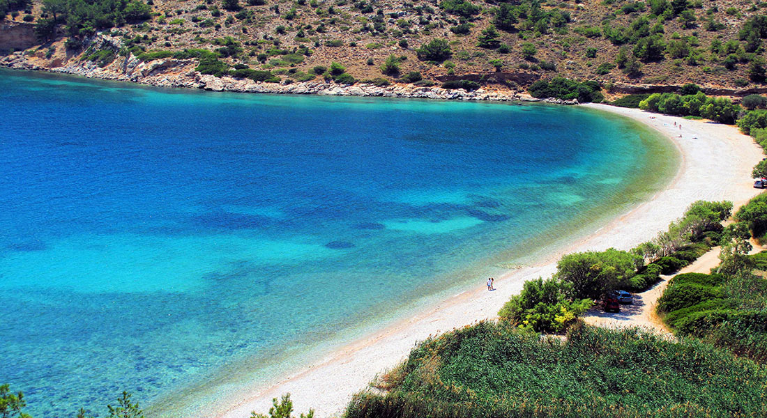 Beaches in Chios